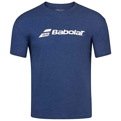 Babolat Exercise tee Boy Camiseta, Unisex niños, Estate Blue HTHR, 10-12 años