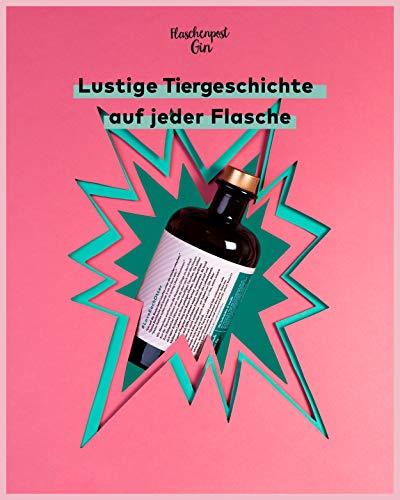 FLASCHENPOST GIN - Ohne dich ist alles ginlos - Love Edition - Handmade Deutscher Premium Gin mit warmen Noten von Vanille und Tonkabohne - 3
