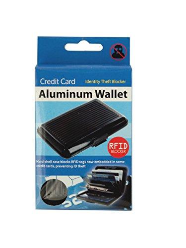 Kole Imports Op709 Aluminium carte de crédit Portefeuille