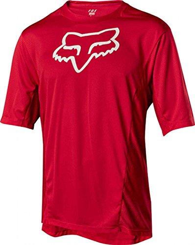 Fox Demo Ss Camo Burn Jersey, Rot, Größe M
