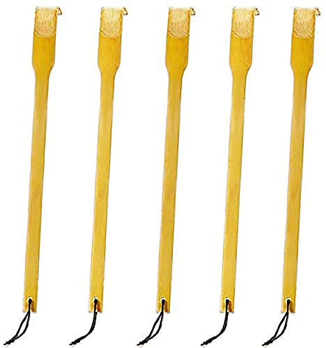 RENOOK Bamboo Wooden Back Scratchers, 16.5'', Best for People Who Need Longer Hands, Provide Instant Relief from Itching, Good Practical and Novel Gifts for Friends and Family.