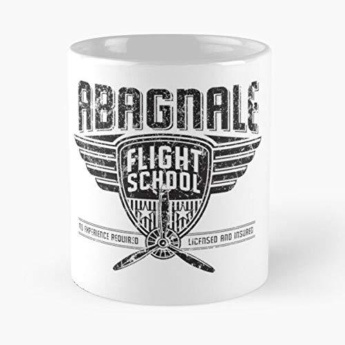 Desconocido Bank Fraud Fraudulent Abagnale Flight Frank Check Am Airplanes FBI Pan Taza de café con Leche 11 oz
