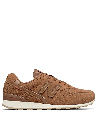 New Balance Women's 996v2 Sneaker, Tan Suede, 6 M US