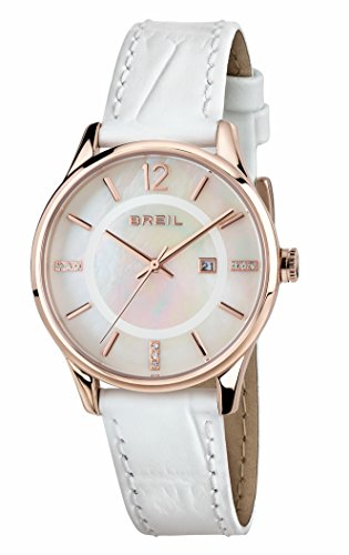 Orologio BREIL DONNA CONTEMPO quadrante MADREPERLA BIANCO movimento SOLO...