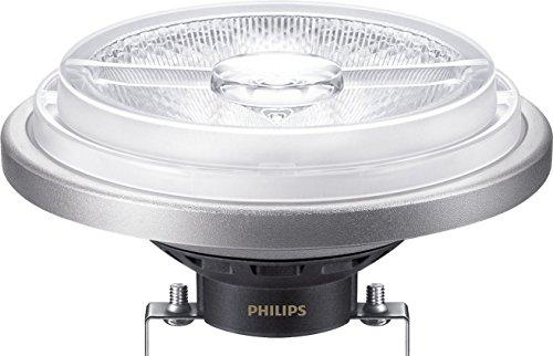 Philips Master LEDspot LV AR111 20 W G53 A Bianco freddo – Lampada LED (Bianco Freddo, Nero, A, 2400 mA, 22 kWh, 11,1 cm)