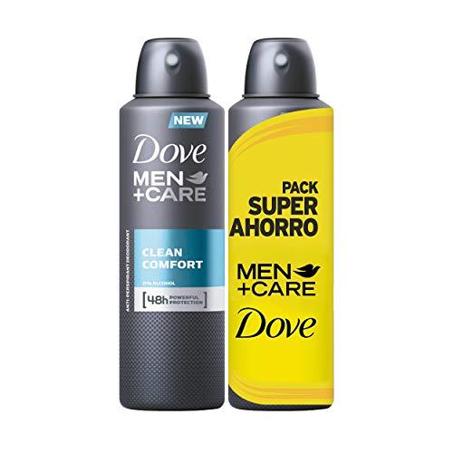 Dove Men Pack économique Déodorant Clean Comfort - 2 x 2 x 200 ml: Total – 800 ml