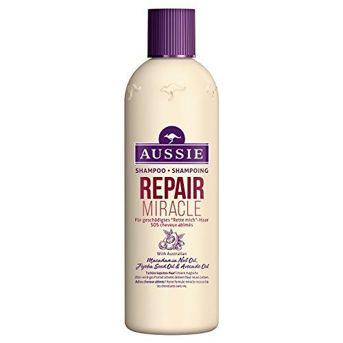 Aussie Repair Miracle Shampoing Pour Cheveux Abimés Qui Crient'à l'aide!' 300 ml