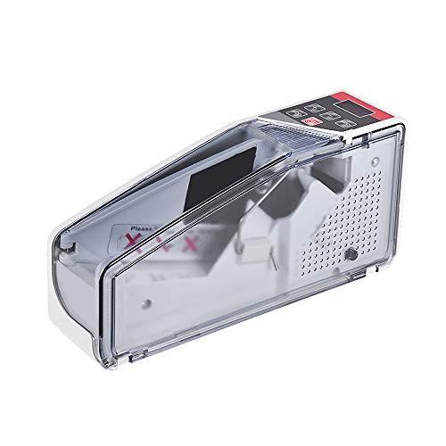 Portátil Mini Handy Money Counter Worldwide Bill Cash Billetes de cuenta Moneda Contador Máquina con pantalla LED Equipo financiero