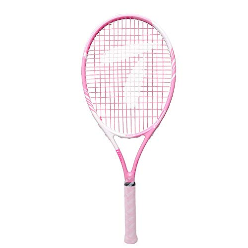 Leicht Tennisschläger für Damen und Mädchen, Professionel Tennis Racket Set mit Tragetasche, für Anfänger und Freizeitspieler, Rosa