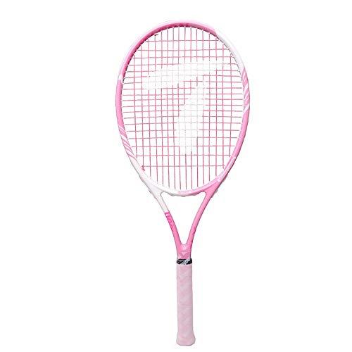 Leggero Racchetta da Tennis per Donna, Professionale Tennis Racket Set con Borsa per Il Trasporto, per Ragazze e Principianti Amatoriali, Rosa