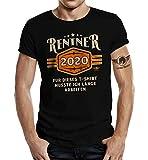 Geschenk T-Shirt zur Rente und zum Ruhestand: Rentner 2020 S