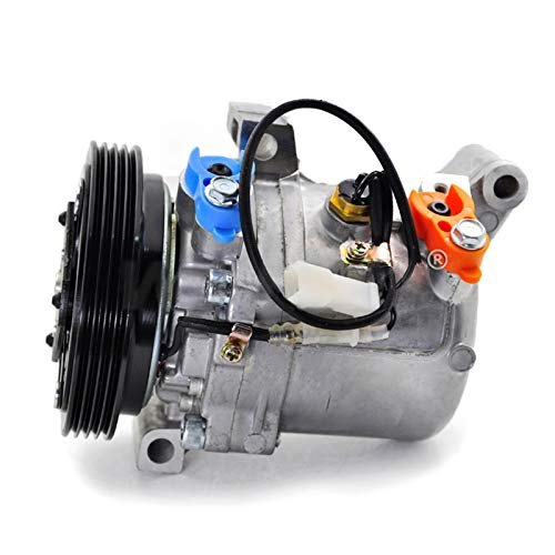 PANGOLIN 95201-77GB2 9520177GB2 Air Conditioning Compressor Auto AC Compressor with Clutch Assy for Suzuki Jimny Seiko Seiki SS07LK10 Spare Parts, 3 Month Warranty