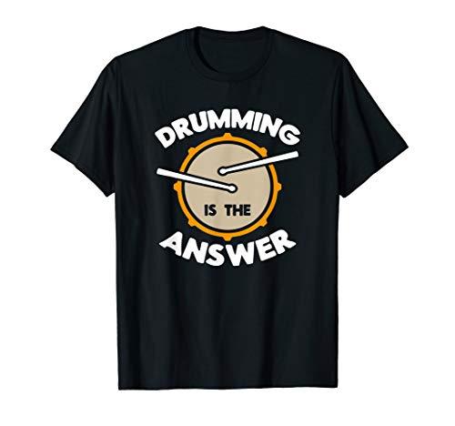 Drumming is the answer I Drummer Schlagzeug Rock Sticks