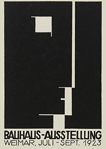 Kunstdruck-Poster, Motiv: Bauhaus The 1923 Weimar Ausstellung, von Herbert Bayer, 250 g/m², glänzend, A3, Reproduktion