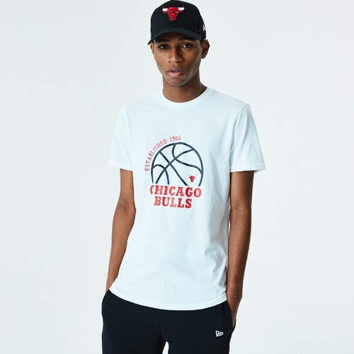 New Era Camiseta Chicago Bulls Modelo NBA Basketball Graphic tee CHIBUL Marca