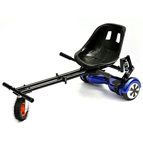 rolab H1hoverkart verstellbar Hover Gokart Sitz für 6,5Zwei Rad selbst Balancing Scooter Hoverboard swegway (schwarz)
