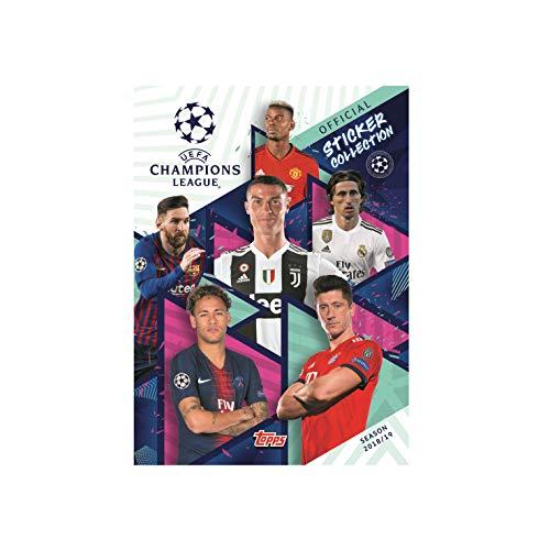 Topps UEFA Champions League Sammelbildalbum für Sticker 2018/19