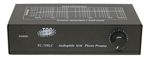 TCC TC-750LC preamplificatore Phono, nero