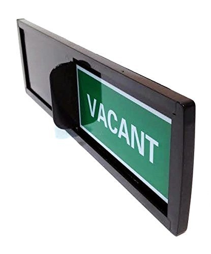 Privacy Sign (Do Not Disturb Sign, Restroom Sign, Office Sign, Conference Sign, Vacant Sign, Occupied Sign) - Tells Whether Room in Vacant or Occupied