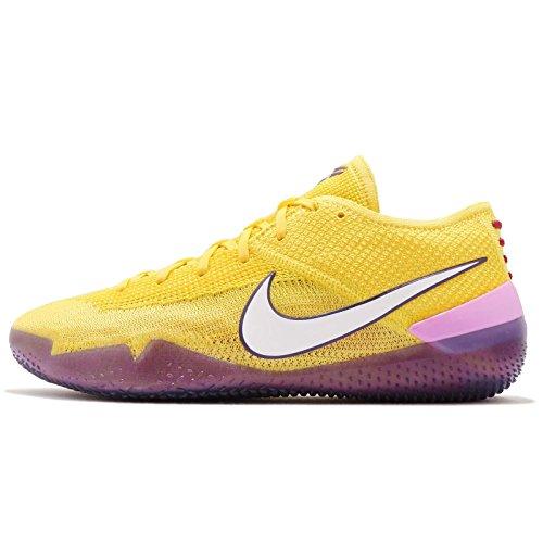 Nike Kobe AD NXT 360 Mens Basketball Trainers AQ1087 Sneakers Shoes (UK 8 US 9 EU 42.5, Yellow Strike White 700)