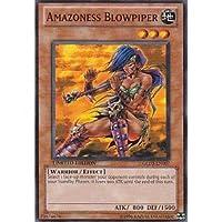 アマゾネスの吹き矢兵/Amazoness Blowpiper 英語版遊戯王カード GLD3-EN007