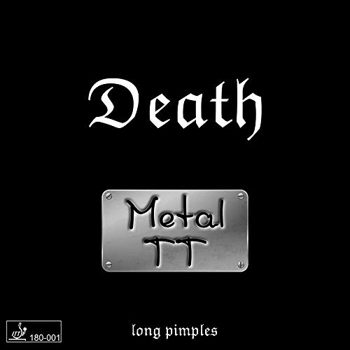 Metal TT Belag Death (Langnoppenbelag), 0,5 mm, schwarz
