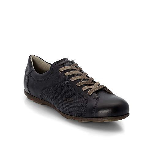 LLOYD Herren Low-Top Sneaker BORAN, Männer Sneaker,lose Einlage, leger Halbschuh schnürschuh strassenschuh Business maskulin,Midnight,9 UK / 43 EU