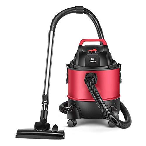 WCY Aspirador sin Cable Aspiradora - Rojo 20L Gran Capacidad hogar Limpiador Comercial Industrial de vacío de Alta Potencia Multi-función, 40x29.5x47.5cm Aspirador de Mano de Gran Alcance yqaae