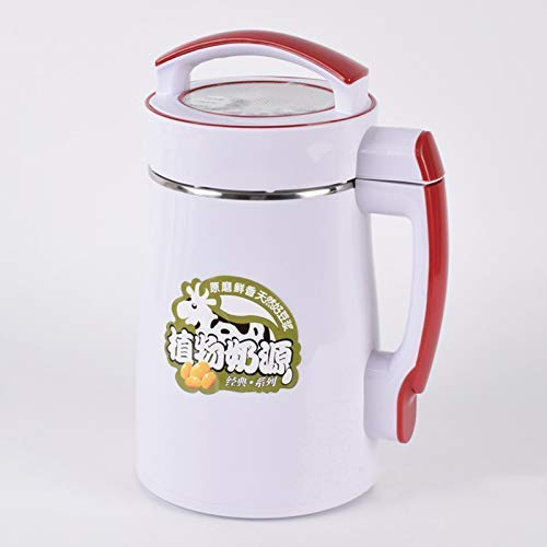 BGSFF Neue Multifunktions-2L-Sojamilchmaschine, vollintelligenter Saftrühr-Reispastenhersteller Edelstahl-Fruchtsaft-Sojamilch-Getreidesuppenhersteller 800W 220V
