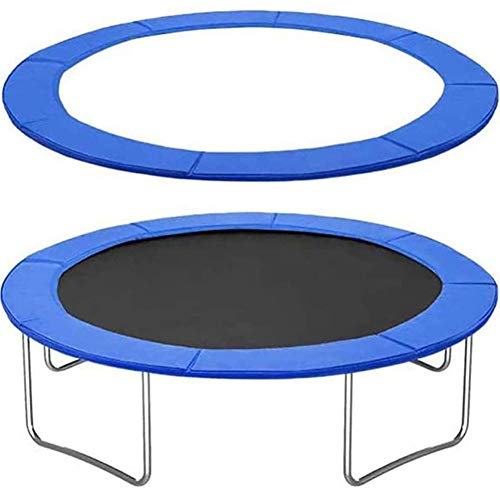 PAD 6FT 8FT 10FT 12FT 13FT 14FT 16FT Trampoline Cover Replacement Trampoline Surround Foam Safety Guard Spring Padding, Tear-Resistant Edge Protection