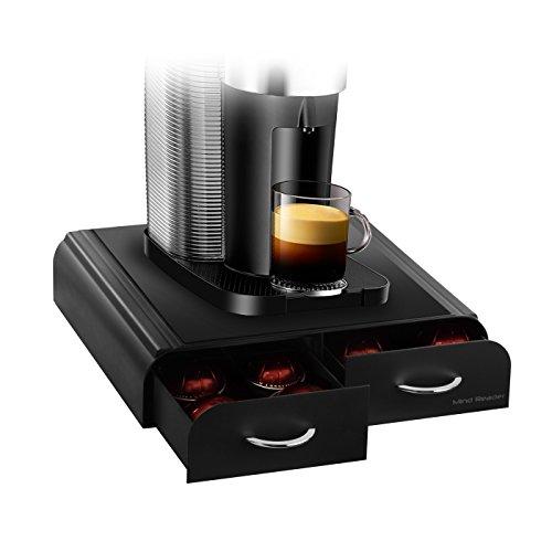 Mind Reader ' Anchor' per 32 Tassimo T - Dischi, 20 Vertuoline capsule Nespresso , 20 Keurig Vue Pack - Black Coffee Pod cassetto di immagazzinaggio
