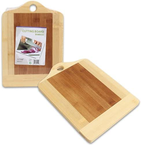 """2021 Bamboo Cutting Board 11""""X8"""" Carving Chopping Chop outlet sale Slice Dice Hook Hang sale Ready sale"""