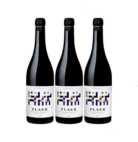Acústic Celler Ritme Priorat DOCa Rotwein veganer Wein trocken Spanien (3 Flaschen)