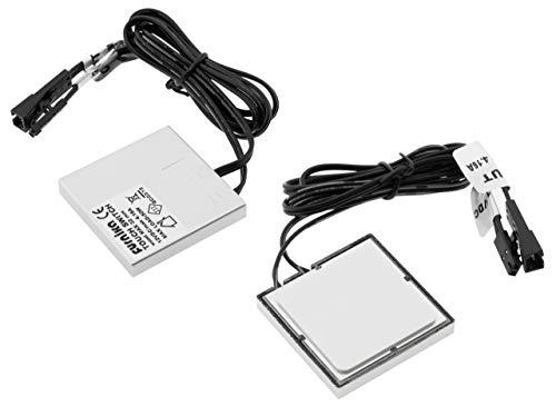 LED Berührungsschalter für Holz unsichtbar und einbaubar im Möbel max. 50W 3M Tape