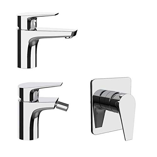 FRATELLI FRATTINI Set rubinetteria lavabo Bidet e Incasso Doccia Senza deviatore Briotre