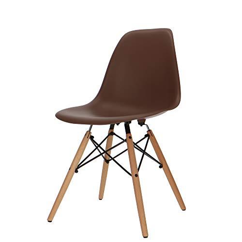 Popfurniture Designerstoel, vele kleuren, robuust, lichte constructie, ideale eetkamerstoelen, eetkamerstoelen, eettafel, keukenstoel