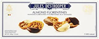 Jules Destrooper Almond Florentines 100 g (Pack of 4)
