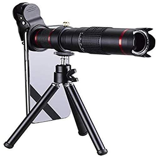 Tpdch Lente de la cámara del teléfono móvil, Lente del teléfono, Telescopio Externo Universal para teléfonos móviles, Lente de cámara de Efectos Especiales 22X de Doble Tono HD