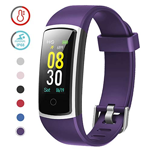 YAMAY Fitness Tracker with Blood...