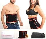 Fajas Reductoras Adelgazantes Mujer Faja Reductora Hombre Ajustable Faja Lumbar Con Accesorios Cinturon Lumbar Para Perder Peso En Neopreno Cierre De Velcro Mejorado Fajas Reductoras Abdomen