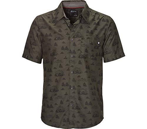 Marmot Herren Syrocco Short Sleeve Hemd, Nori Camping, S