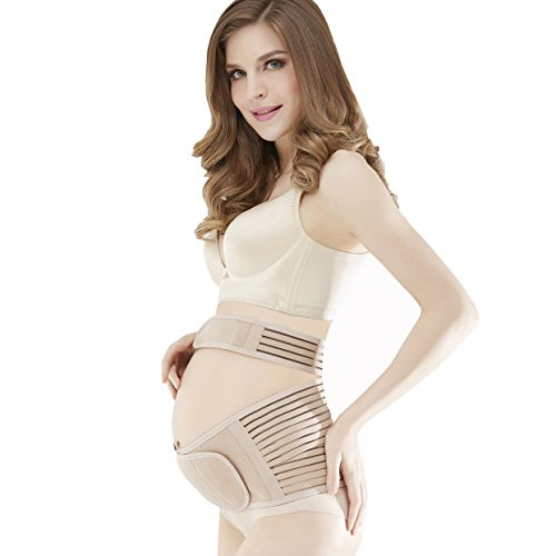 Product Image of the Maternity Belt,Lower Back and Pelvic Support - Belly Band for Pregnancy,Nude