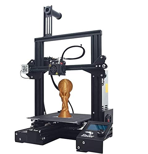 Creality 3D Printer Ender 3 Pro New Version, with Magnetic Build Surface & UL Certified Power Supply Device, Resume Print 220 × 220 × 250mm 3D printer