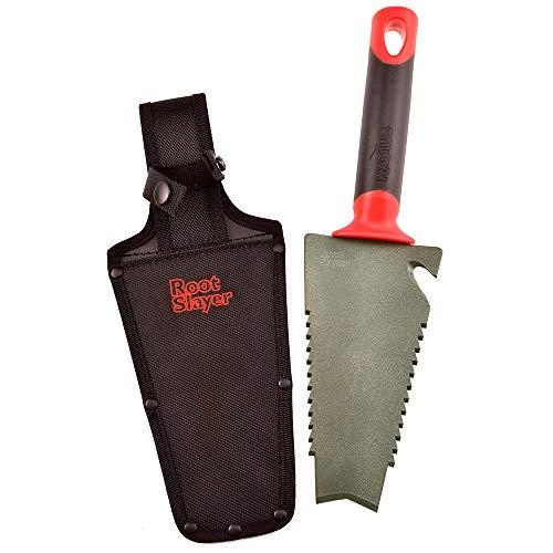 Radius Garden 17011 Root Slayer, Trowel/Holster, Red