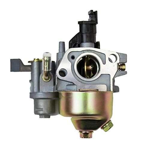 Carburador Carburador de Carb for Ho-n-da GX120 GX160 GX168 GX200 5.5HP 6.5HP Motor generador y Motor del cortacésped (Color : Silver)