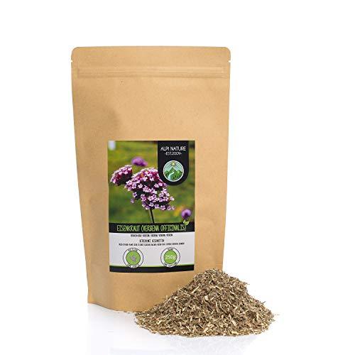 Eisenkraut (250g), Verbena officinalis geschnitten, schonend getrocknet, 100% rein und naturbelassen zur Zubereitung von Tee, Kräutertee