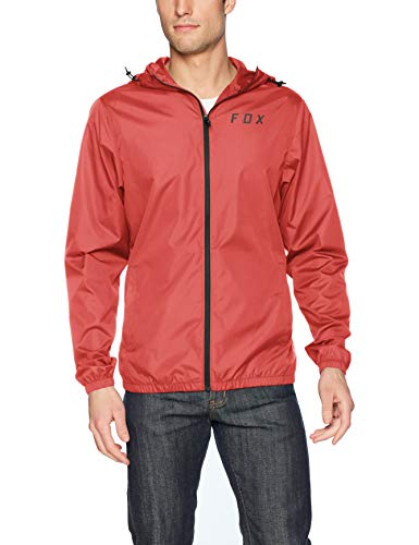 Fox Herren Attacker Windbreaker Windjacke, Rio Rot, X-Groß