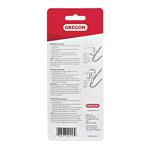 Oregon 26365 Chainsaw Grease Gun - 3 Pack (3)