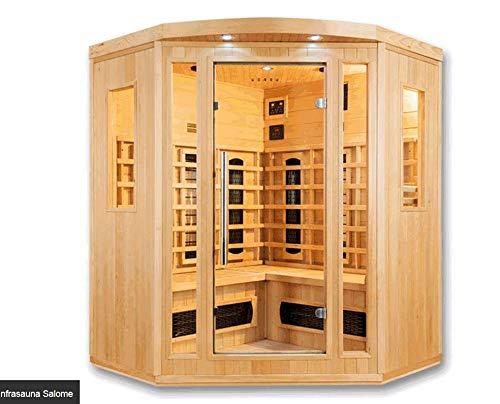 Salome Deluxe - Cabina de infrarrojos para sauna (4 personas)