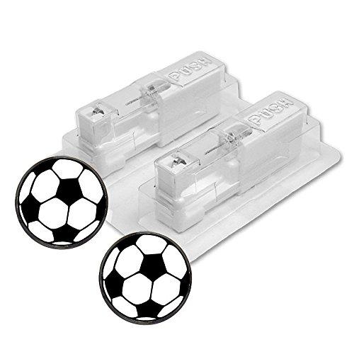 1 Paar STUDEX Medizinische Ohrstecker FUSSBALL Soccer Ball